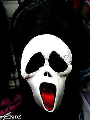 Beanie Full Face Scary Movie face mask Ski Mask costume halloween attire-New!