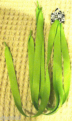 Premium Flat  Green Rockabilly Punk Shoe laces-New with Tags! Green Shoe laces