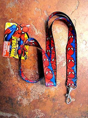 Marvel Spider-man Faces Lanyard/Landyard ID Holder Keychain-Spiderman Lanyard