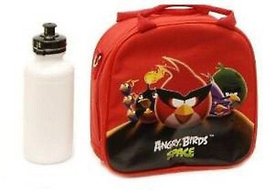 Angry Birds & Friends Insulated Lunch Box Bag + 15oz Water Bottle by Rovio-New!