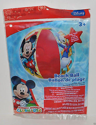 "Mickey Mouse Clubhouse Minnie Mouse/Diasy Duck 20"" Beach Ball-New in Package!"