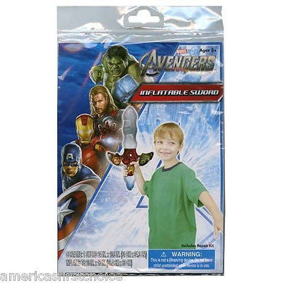 Captain America Thor Hulk Iron Man The Avengers Inflatable Sword Toy-New!