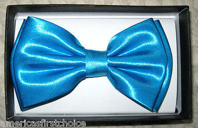 2-TONE GOLD AND BLACK ADJUSTABLE TUXEDO BOW TIE-NEW GIFT BOX!GOLD WITH BLACK TIP