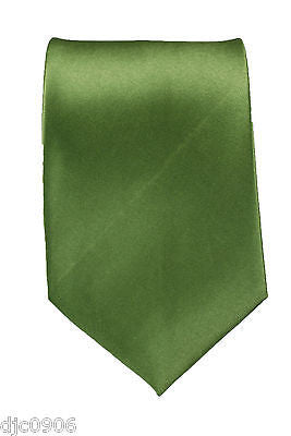 "Unisex Neon Lime Green Silk Feel Neck tie 56"" L x 3"" W-Neon Green NeckTie-New"