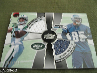 Anthony McCoy/Joe McKnight RC 2010 Topps Prime 2nd quarter combo relic Jerseys