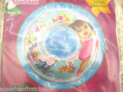 "Dora the Explorer + Boots 20"" Beach Ball by Nick Jr./Nickelodeon-New in Package!"
