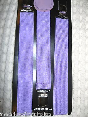Unisex Light Pink Y-Back Style Back Adjustable suspenders-New in Package!