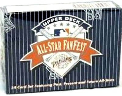 1992 Upper Deck All-Star Fanfest 54 Card Set Featuring Post,Present,Future Stars