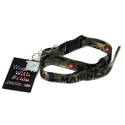 "Official Licensed Products Military ""US MARINES"" CAMO Lanyard-Brand New!"