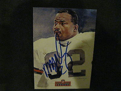 MICHAEL DEAN PERRY AUTOGRAPHED 1992 PROLINE FOOTBALL CARDS-CLEVELAND BROWNS
