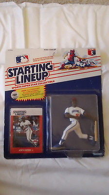 Joe Carter Rookie 1988 Starting Line-Up SLU Rookie Figure-Blue Jays-NEW!
