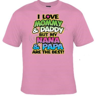 I Love Mommy and Daddy Tee