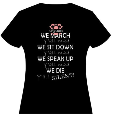 We March Tee