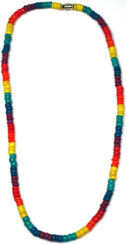 Rainbow Coconut Necklace - Rainbow Pride Shop