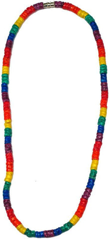 Rainbow Heishi Shell Necklace - Rainbow Pride Shop