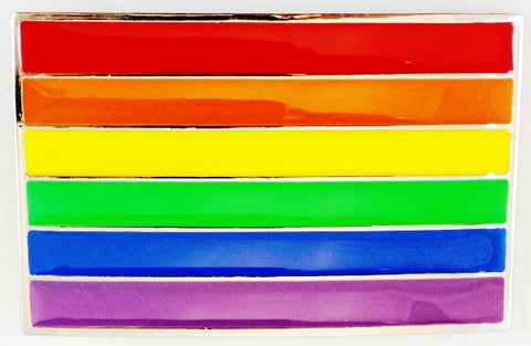 Rainbow Flag Belt Buckle - Rainbow Pride Shop