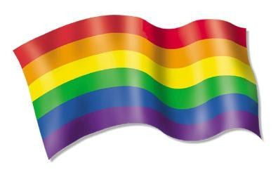 Pride Rainbow Flag Sticker - Rainbow Pride Shop