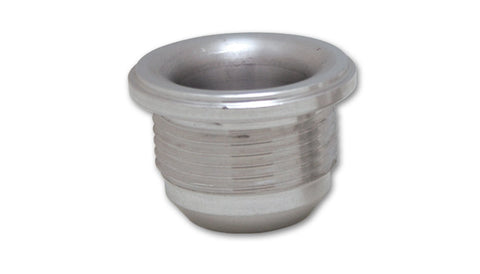 "Vibrant Performance Male -6AN Aluminum Weld Bung (9/16-18 SAE Thread; 7/8"" Flange OD) 11151"