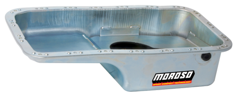 MOROSO OIL PAN, ACURA, HONDA B SERIES, STOCK DEPTH, DRAINBACKS