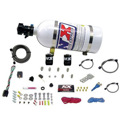NITROUS EXPRESS UNIVERSAL SYSTEM FOR EFI (ALL SINGLE NOZZLE APPLICATION) WITH 10LB BOTTLE