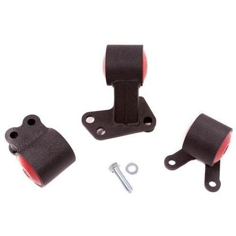 Innovative 94-01 Integra B-Series Black Steel Mounts (Auto to Manual Hydro)