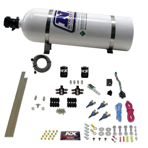 4-Cyl Direct Port Nitrous System, EFI, Gasoline (100-150-250HP) 80004EFI-15