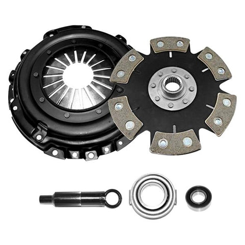 Competition Clutch 2000-2003 Honda S2000 Stage 4 - 6 Pad Ceramic Clutch Kit - Rigid (Unsprung) 8023-0620