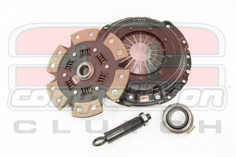 Comp Clutch Stage 4 - 6 Pad Ceramic Clutch Kit - K Series 6 Speed 8037-1620