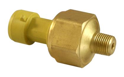 AEM 150 PSIg MAP Brass Sensor Kit (Includes 150 PSIg Brass Sensor & 12in Flying Lead Connector)
