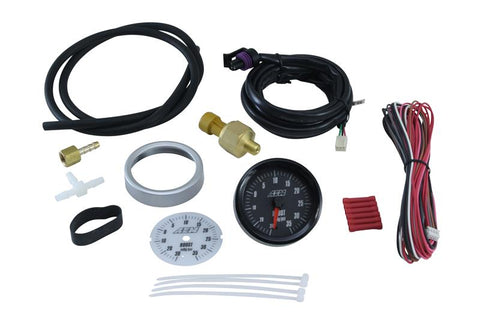 AEM Analog -30inHg to 35psi Boost Gauge 30-5132