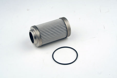 AEROMOTIVE (12650)  10 MICRON MICROGLASS REPLACEMENT ELEMENT; FITS 12340/12350 FILTER ASSEMBLY; FITS ALL 2IN OD FILTER HOUSINGS; FITS GAS AND ALCOHOL FUELS