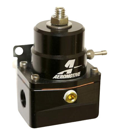 Aeromotive 13131 - Aeromotive A1000-6 Injected Bypass Regulator BLACK