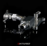 K-Tuned K24/K20Z3 Upper Coolant Housing with Integrated Filler - Straight Inlet