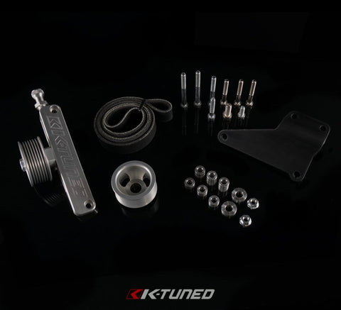 KTuned Universal A/C & P/S Eliminator Delete Kit