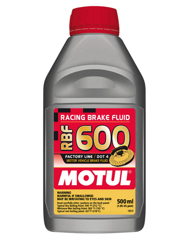 Motul Brake Fluid RBF 600 0.5L