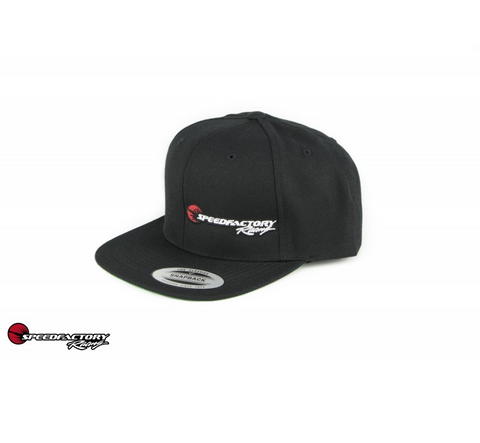 SpeedFactory Racing Logo Snap Back Hats