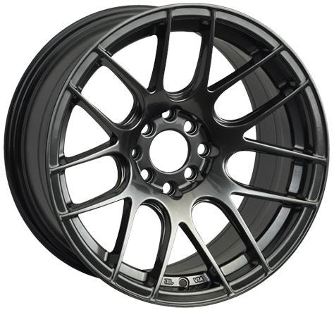 XXR 530 18X8.75 CHROMIUM BLACK 5-100/5-114.3 [+33MM]