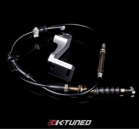 K-Tuned LHD K-Series Throttle Cable & Bracket