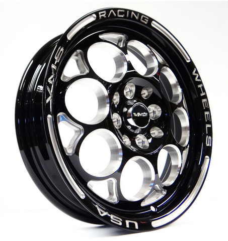 VMS RACING REAR DRAG RACE MODULO WHEEL 15X3.5 4X100/114 10 OFFSET GREAT FOR HONDA CIVIC CRX ACURA INTEGRA VWMO003
