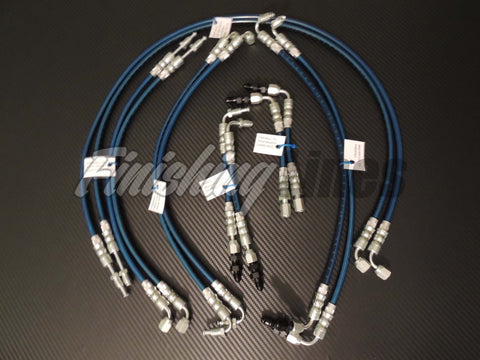"Finishing Lines EG ""Full Tuck"" Brake Line Kit (Stock Master Cylinder)"