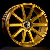 JNC Wheels JNC024 Transparent Gold