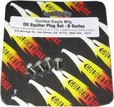 Golden Eagle Oil Squirter Plug Set