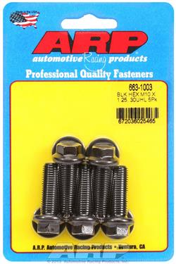 ARP Bolts Metric Thread Bolt Kit 8740 Chrome Moly M10 x 1.25 30mm UHL
