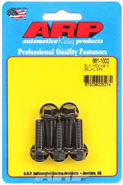 ARP Bolts Metric Thread Bolt Kit 8740 Chrome Moly M8 x 1.25 25mm UHL 661-1002