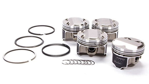 Wiseco Acura 4v DOME +5cc STRUTTED 81.5MM Piston Shelf Stock Kit