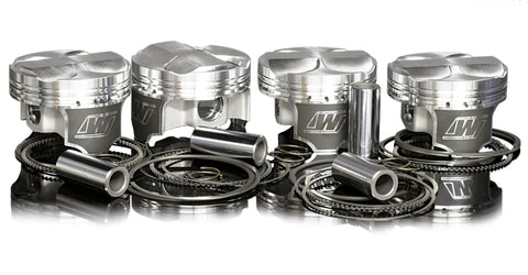 WISECO PISTONS HONDA/ACURA K20 87.5mm 9:1 K24/K20 HEAD 10.2:1(KIT) - K568M875