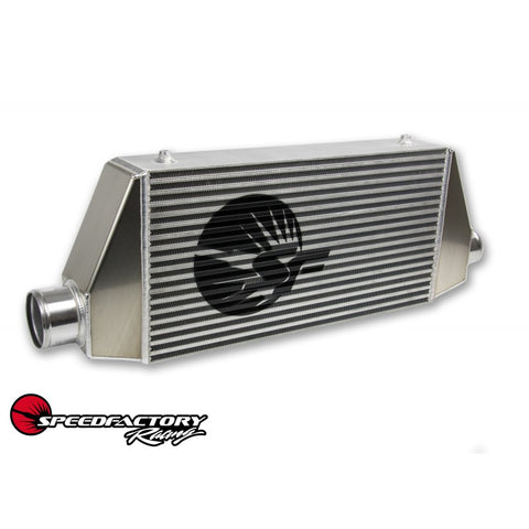 "SpeedFactory Standard Side Inlet/Outlet Universal Front Mount Intercooler - 3"" Inlet / 3"" Outlet (600HP-850HP)"
