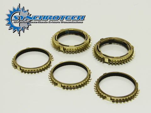 Synchrotech Transmission Pro-Series Carbon Synchro Set 1-5 RSX/Civic Si 02-05 (5 Speed)