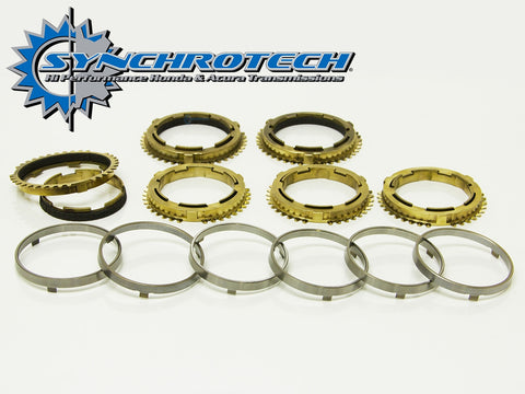 Synchrotech Transmission Pro-Series Carbon Synchro Set 1-6 RSX Type S 02-04