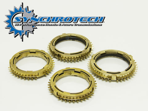 Synchrotech Transmission Pro-Series Carbon Synchro Set 1-4 K20 6 speed